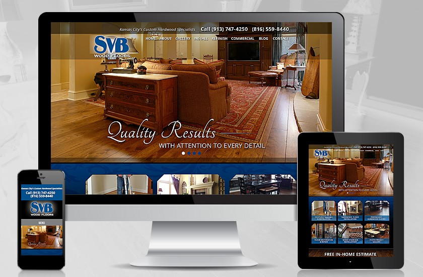 Svb Wood Floors Website Justin Oswald 39 S Portfolio